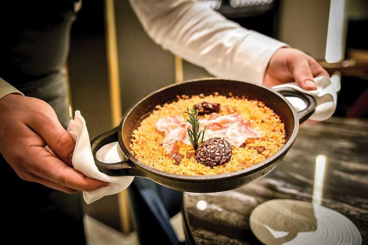almanac hotel linea paella