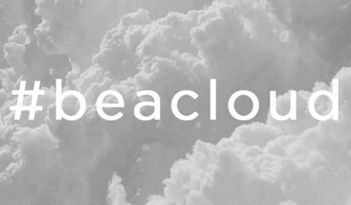 be a cloud