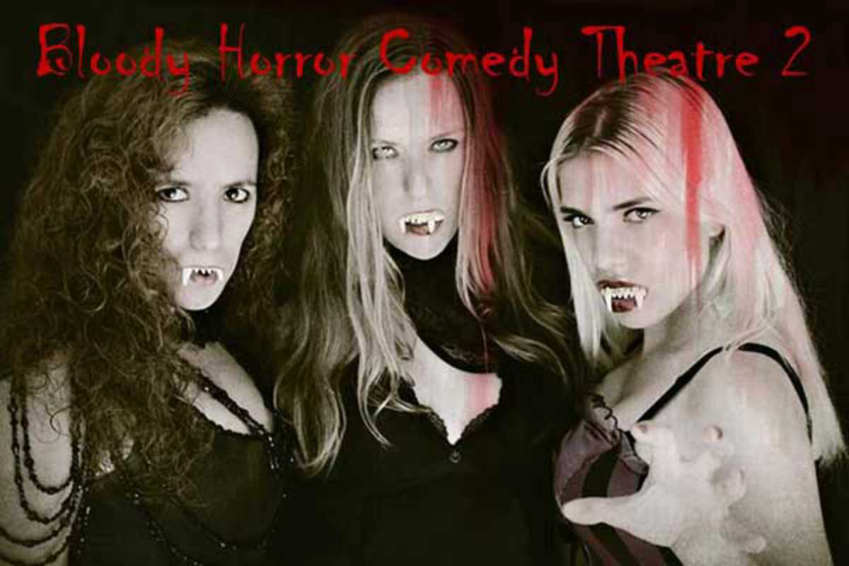 bloody horror comedy