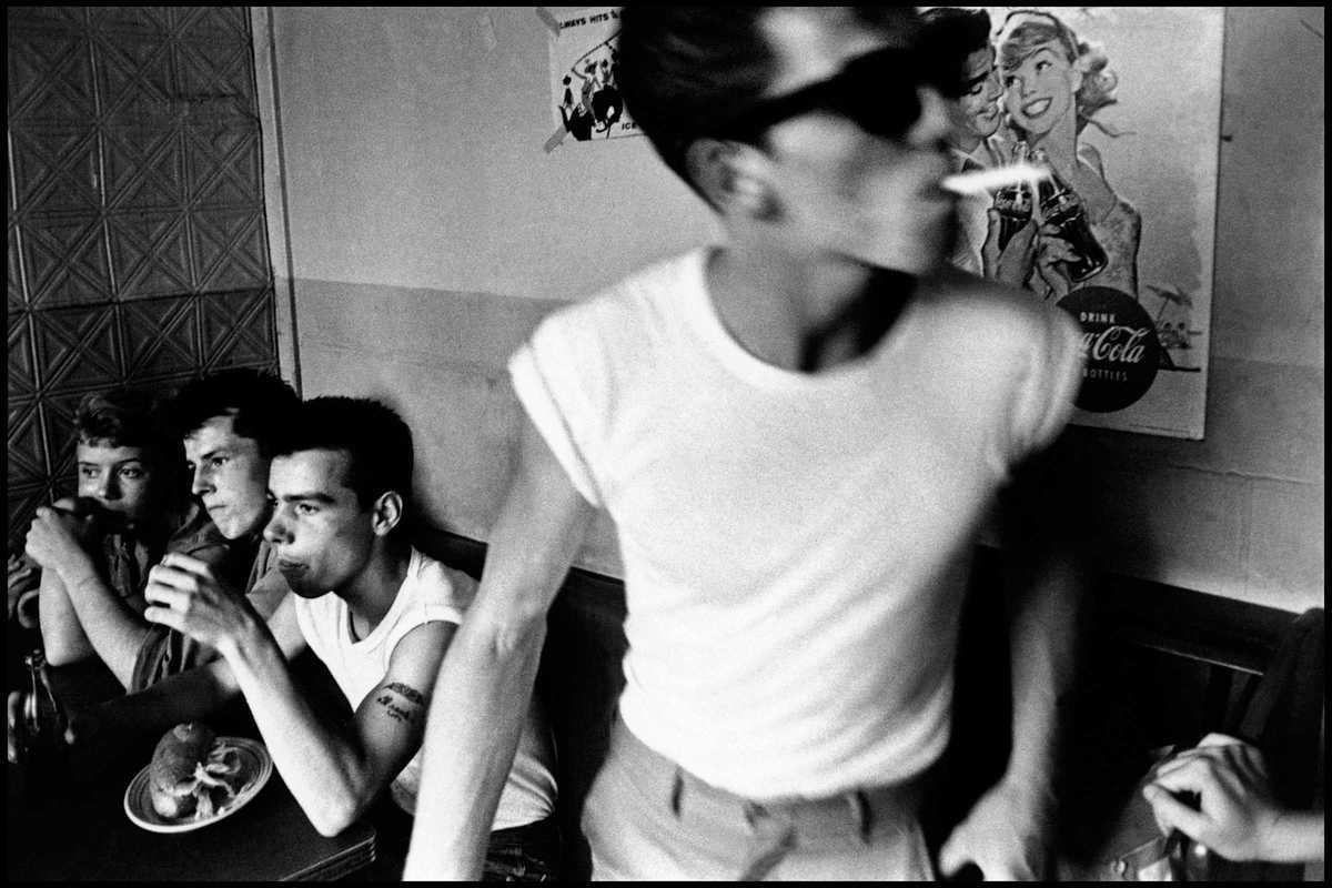 bruce davidson brooklyn gang series
