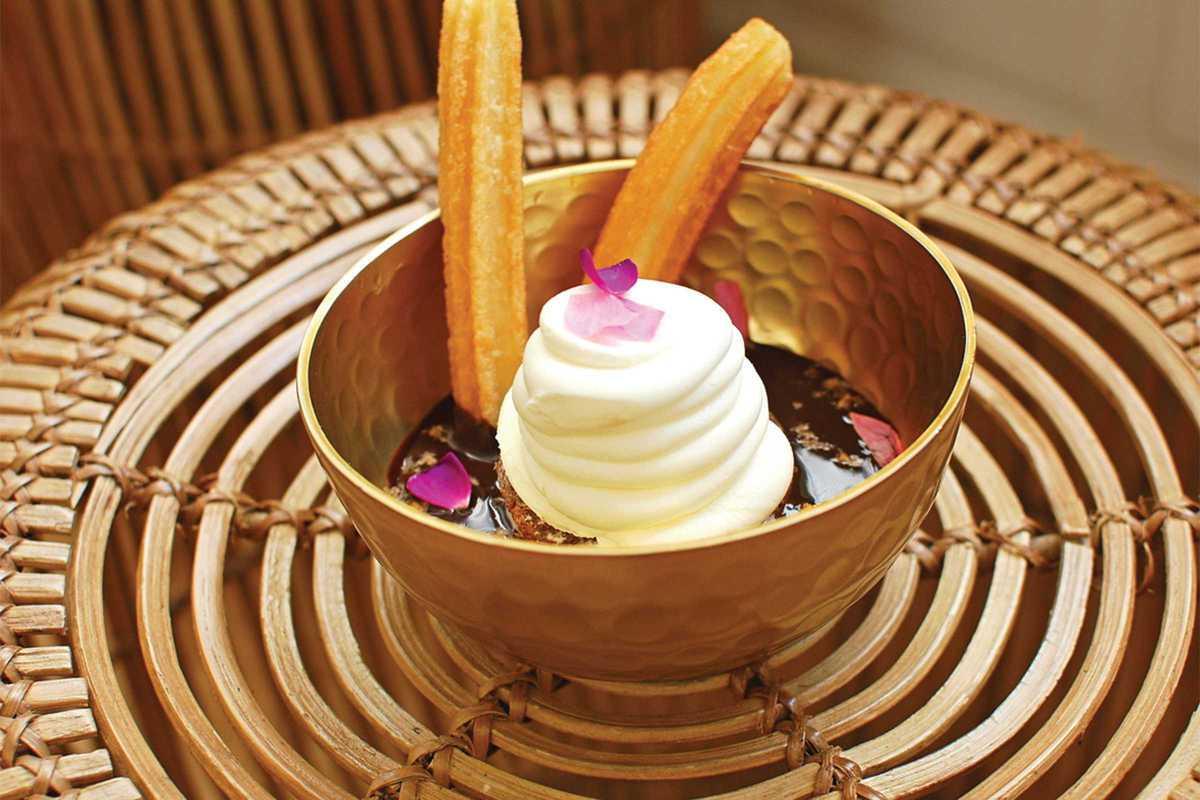 cupcake churro