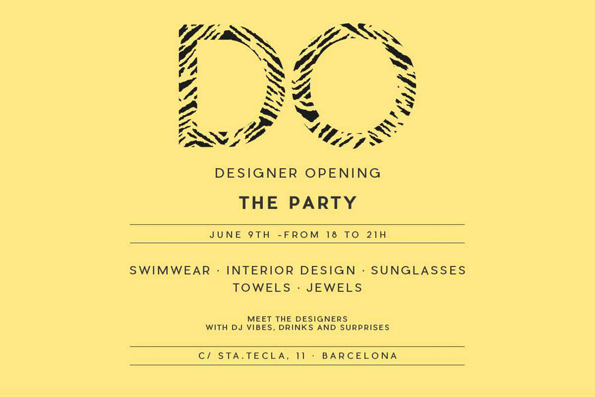 designer opening party