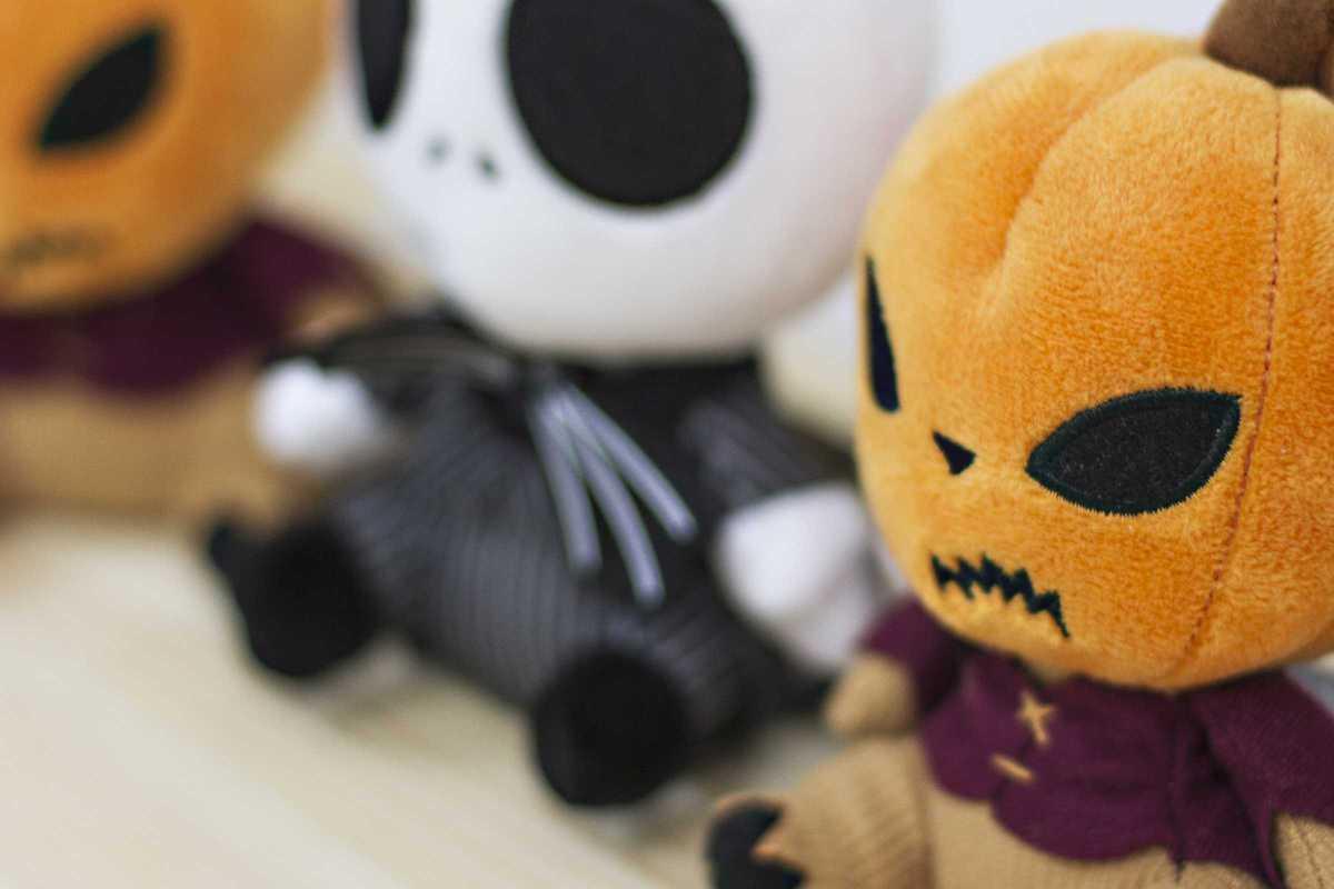 double project halloween stuffed animal