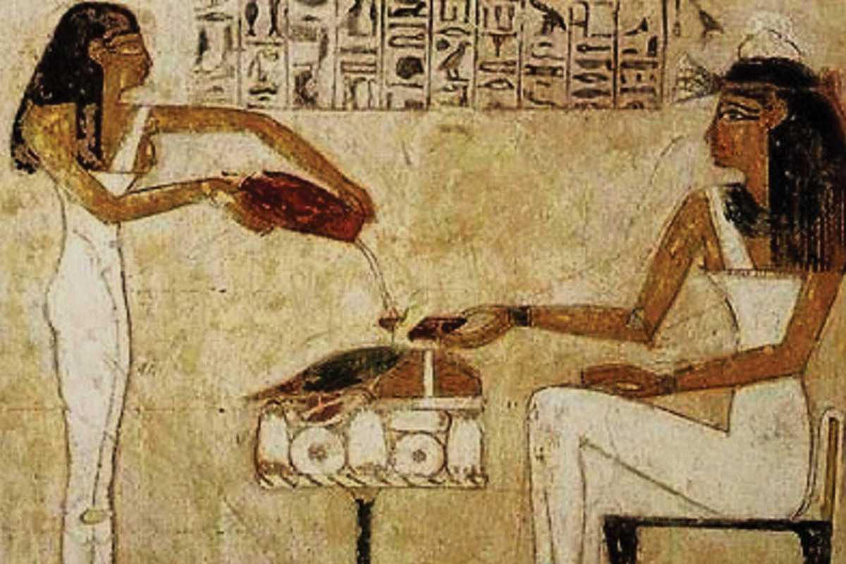 egypt women brewing