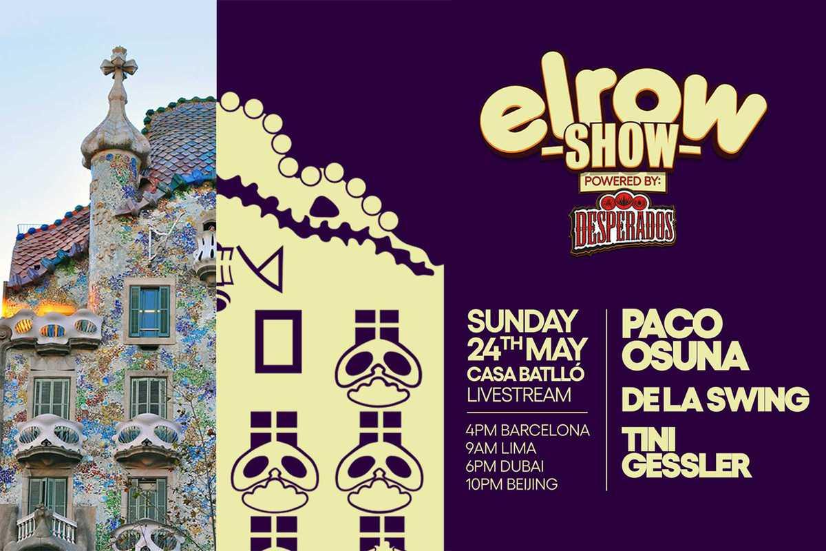 elrow show casa batllo