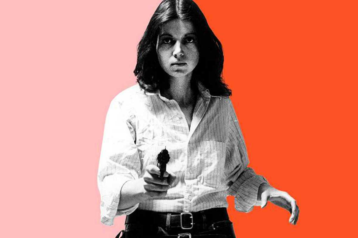 feminisms woman with gun
