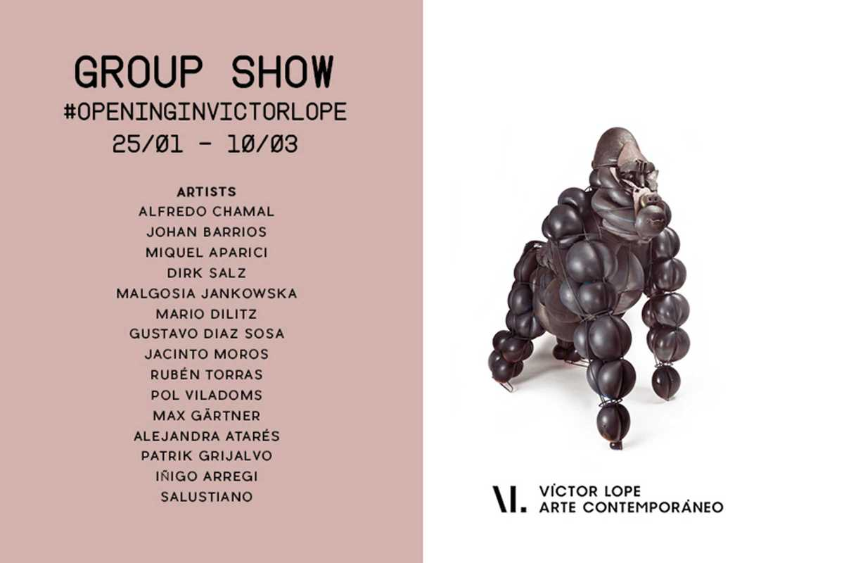 group show victor lope