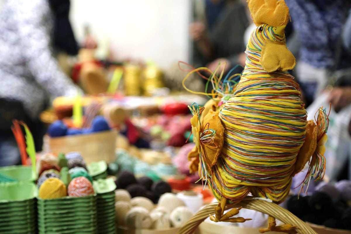 handmade festival chicken