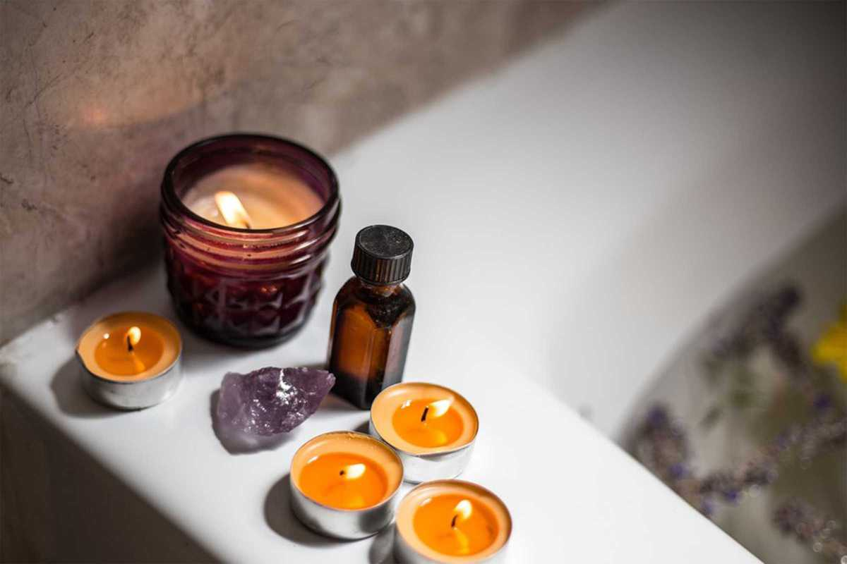 home spa candles