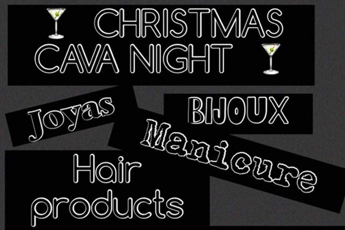 la hair boutique christmas cava night