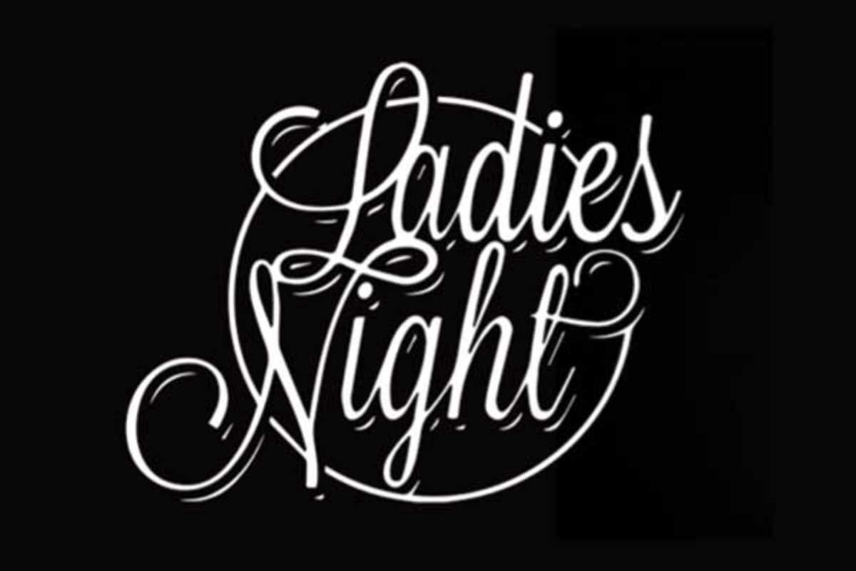 ladies night black