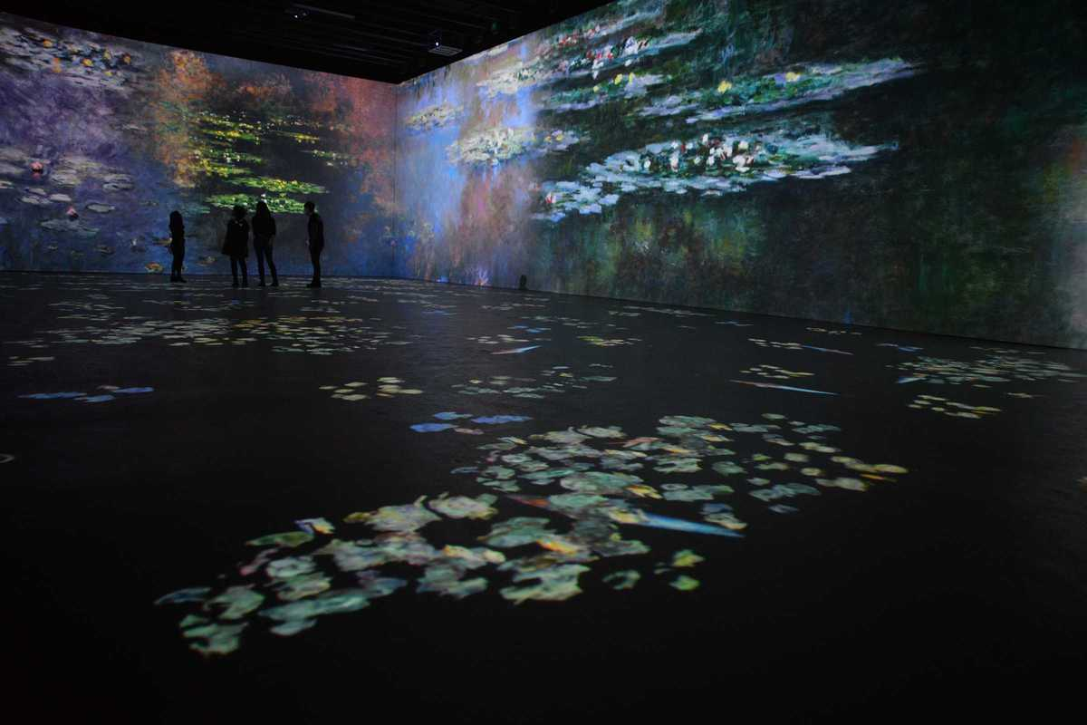 monet immersive experience at ideal