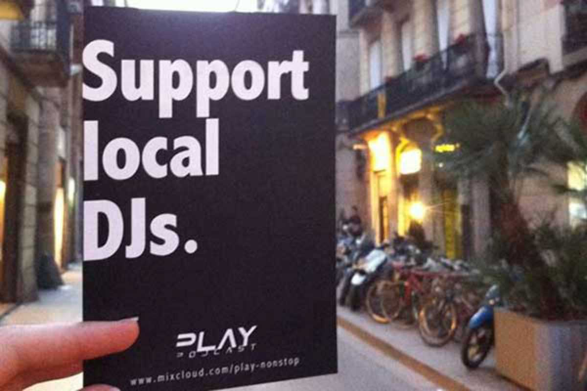 play support local djs