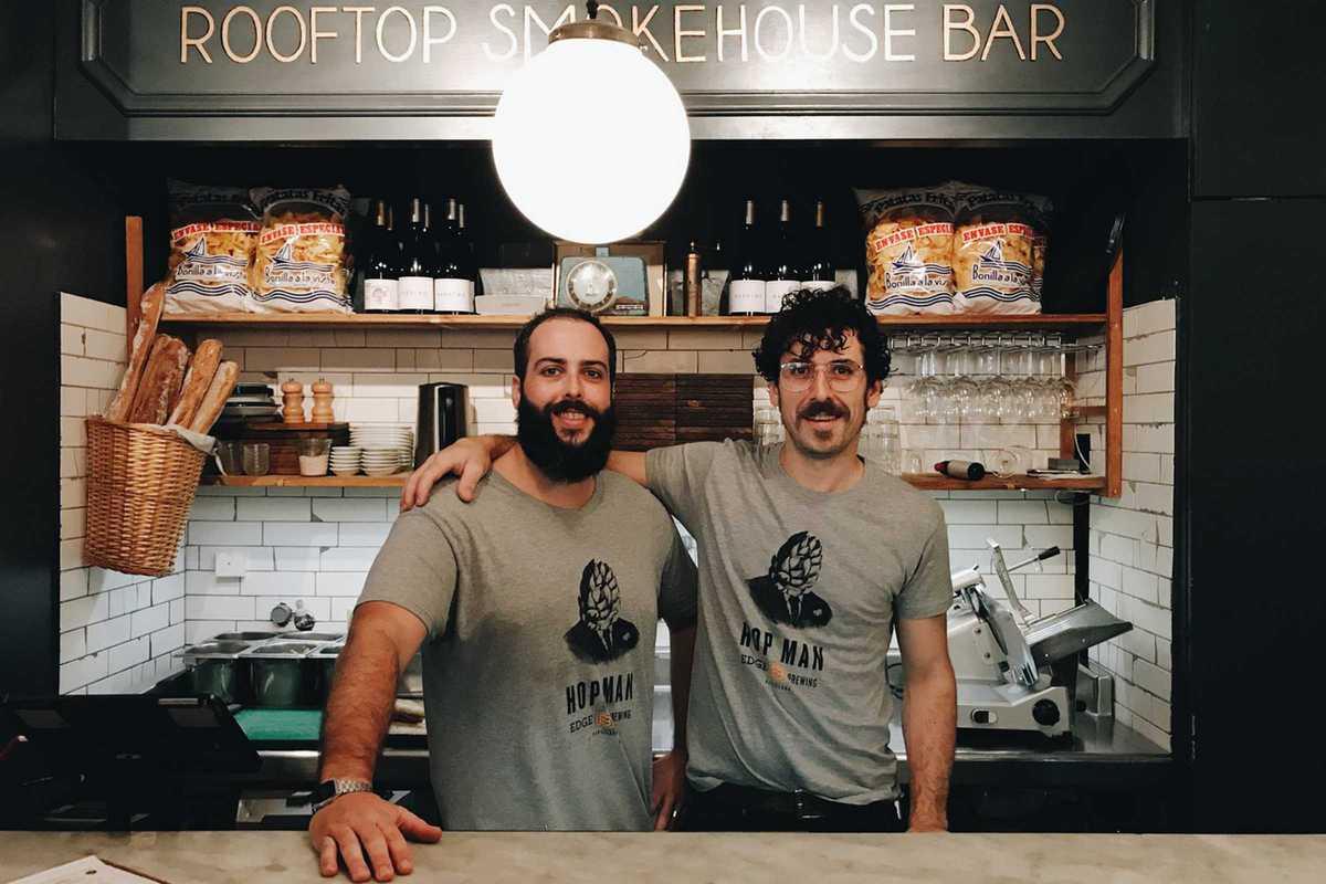 rooftop smokehouse bar