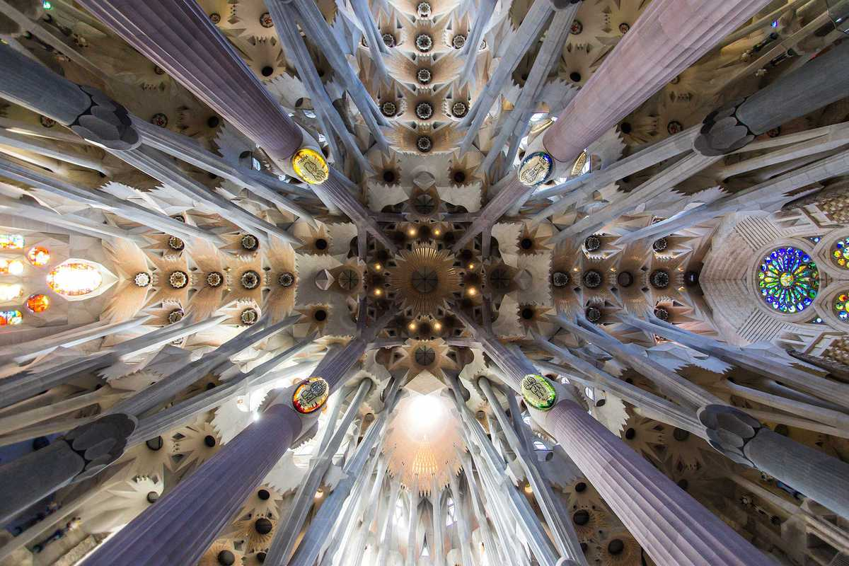 sagrada familia roof