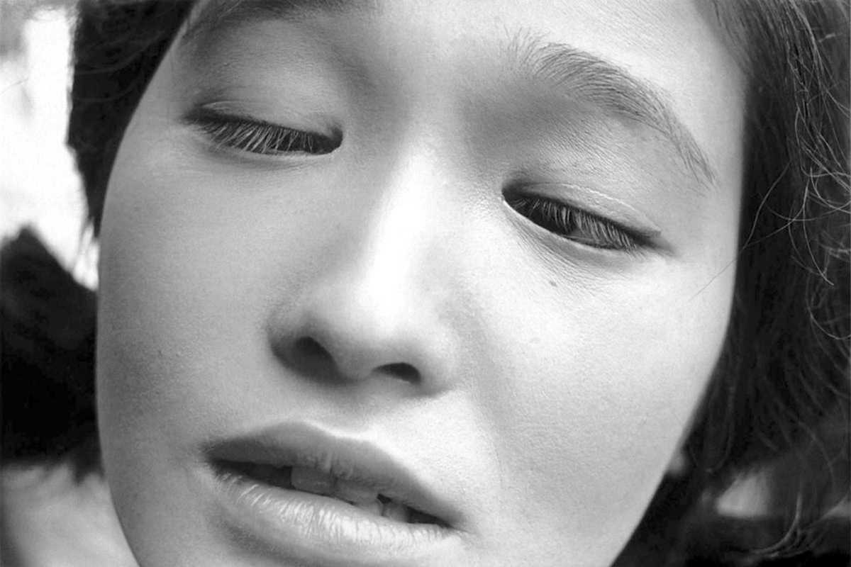 shomei tomatsu womans face