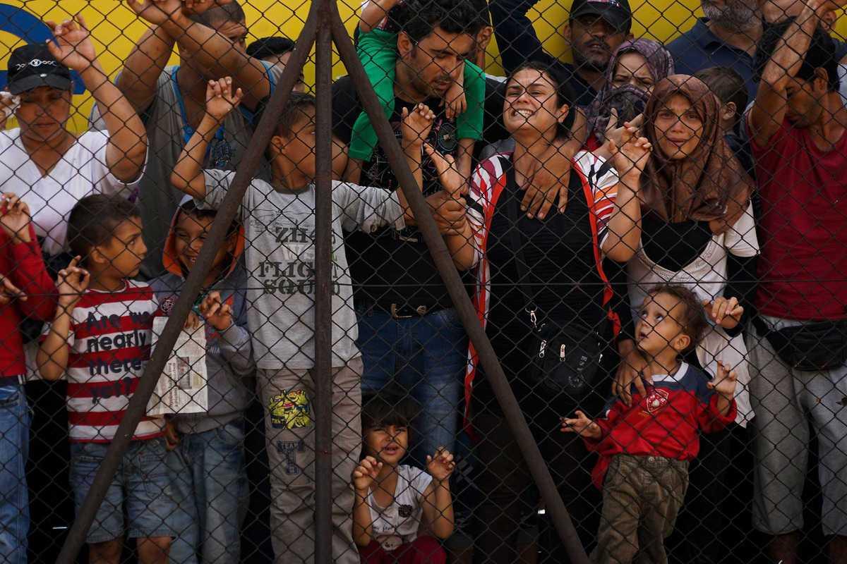 syrian refugees budapest