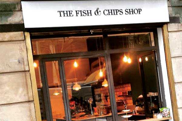 the fish and chips shop