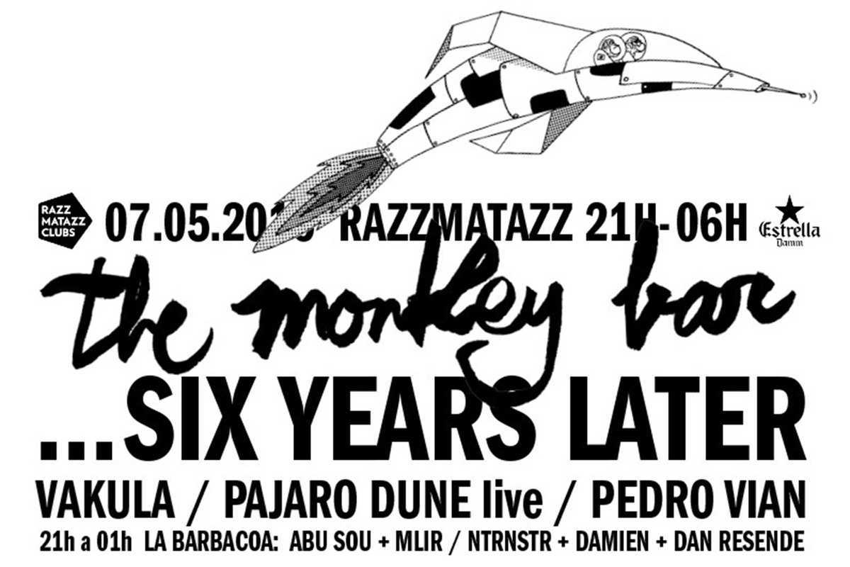the monkey bar 6 anniversary