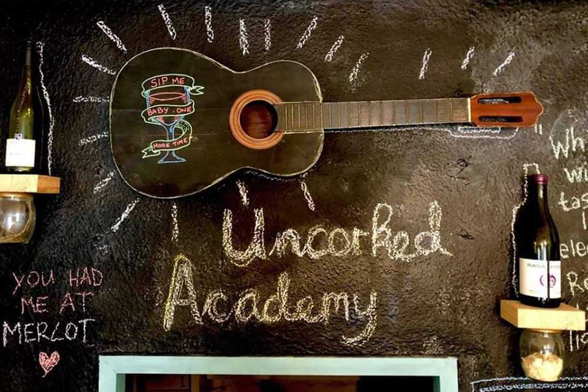 uncorked academy relaunch party